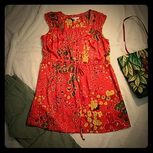 CAbi Floral Tunic